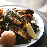 Best mussels in Africa