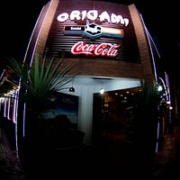 Fachada Origami Sushi Bar e Grill