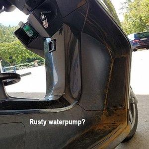 When your scooter overheats due to a broken waterpump.