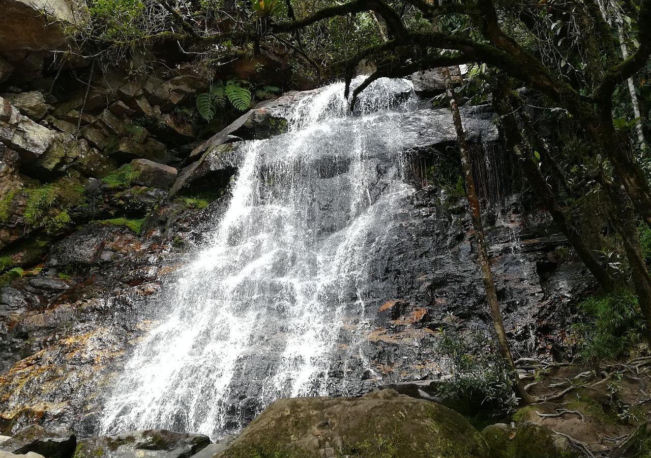 Foto de la segunda cascada que se puede visitar