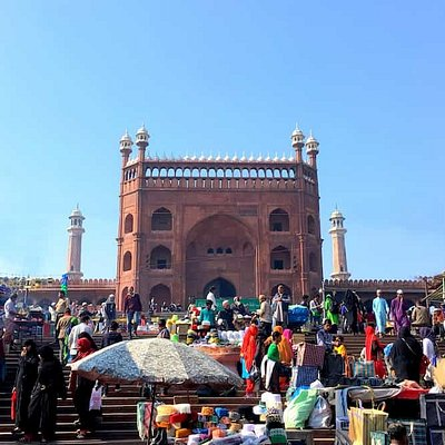 Jama Masjid Gate #2 - the starting point of our Essential Delhi Walk