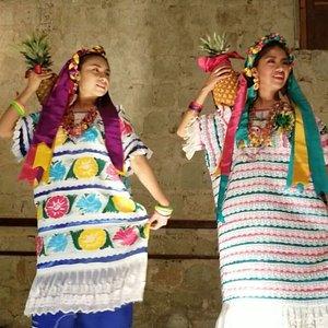Guelaguetza at the Quinta Real in Oaxaca, Mexico