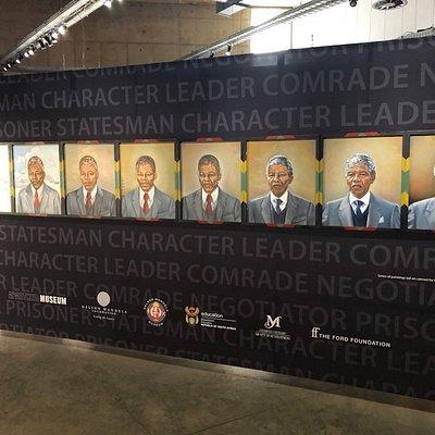 Nelson Mandela Exhibition @ Apartheid Museum