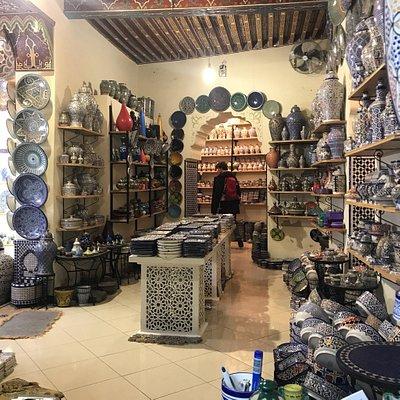 Fez Blue Art