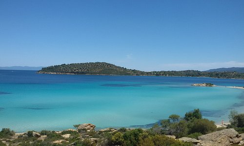 Ajti Lagonisi, a MUST view place in Halkidiki.