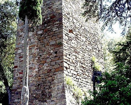Vista Ovest della torre