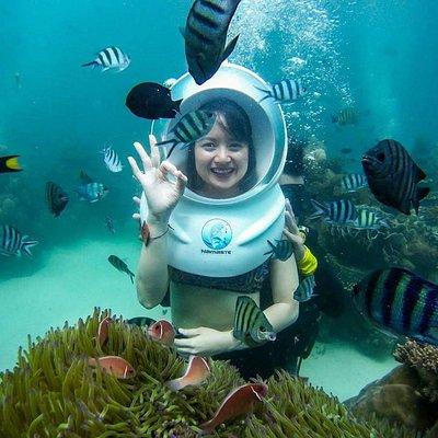 Tour đi bộ dưới biển tại Công viên san hô Namaste Phú Quốc