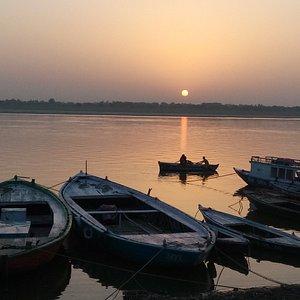Beautiful morning in varanasi