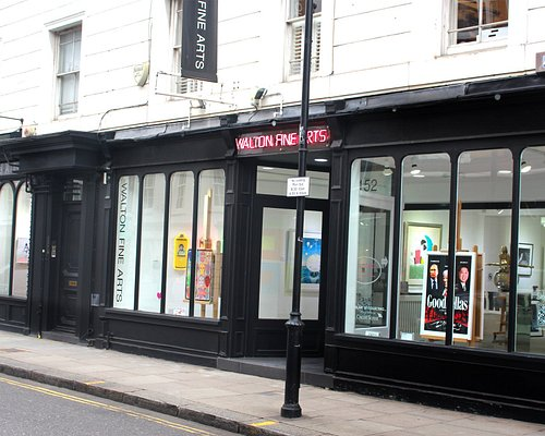 Street view of Walton Fine Arts