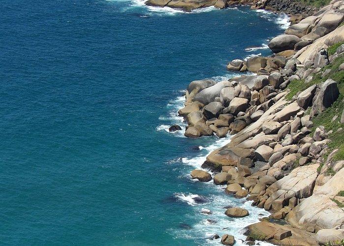 Mirador trilha a praia Galheta