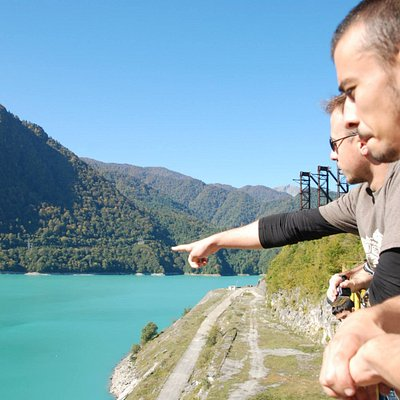 Explaining about Enguri Dam, The biggest Dam in Caucasus.