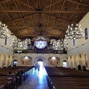 Beautiful altar and interior