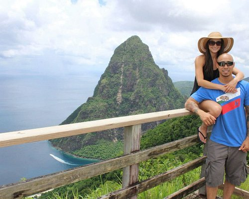 St Lucia`s Pitons