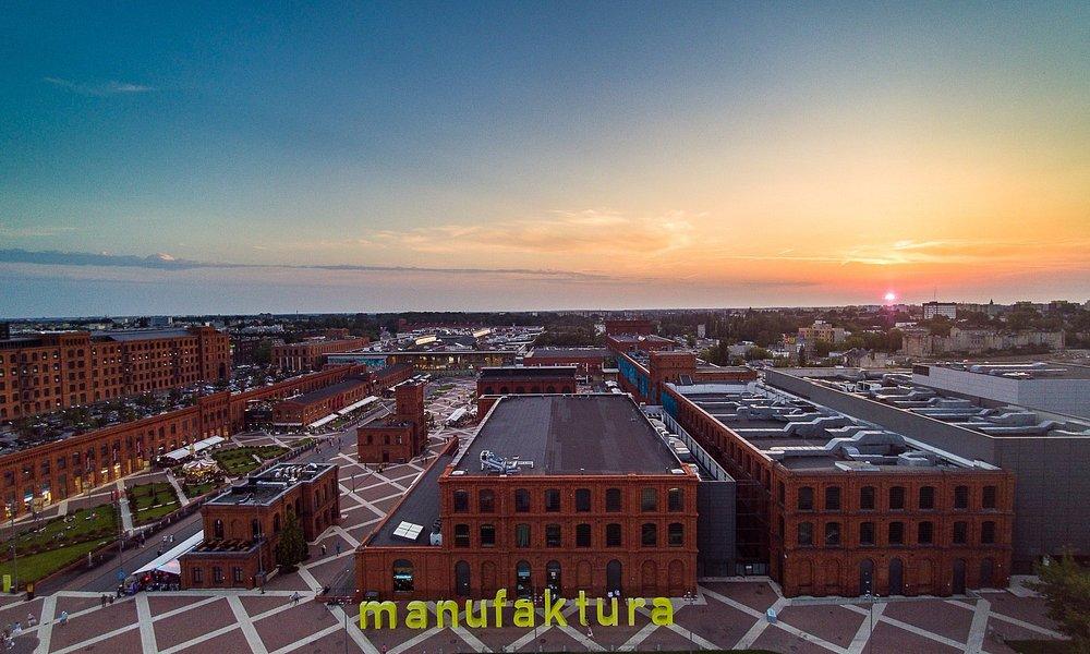 Manufaktura -bird's eye view.