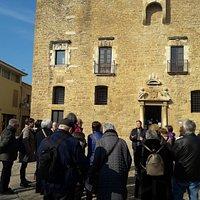 Visita guiada al castillo