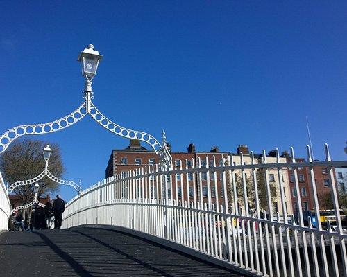Ha'penny Bridge over the Liffey