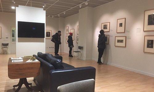 The Käthe Kollwitz exhibition in Gallery 2