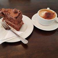 Dry overly sweet cake