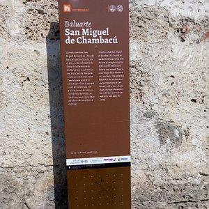 Baluarte San Miguel de Chambacu