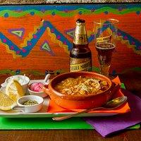 Pozole tipica sopa mexicana