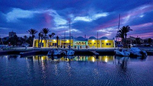 Noches mágicas en el Puerto Deportivo Mar de Cristal