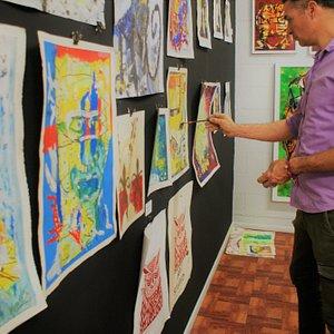 Yandi Monardo Art Gallery, Clases de Arte!