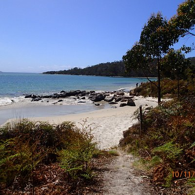 Start of the Fishers Point Walk
