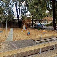 Playground and boardwalk