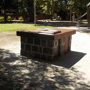 BBQ near playground
