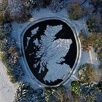 Scotland snowbound.  Copyright Craig Allardyce