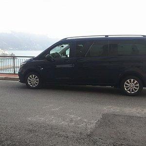 Mercedes noleggio minivan con conducente