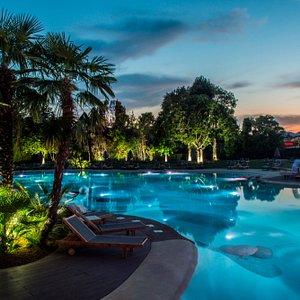 piscina serale Terme di Relilax