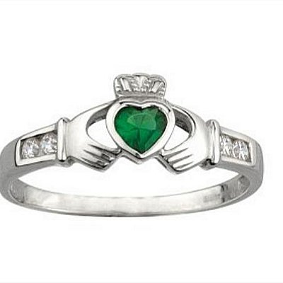 Beautiful Sterling Silver Claddagh Ring by Solvar Ireland