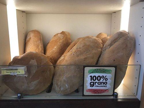 Pane 100% grano Italiano