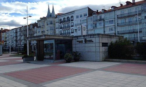 Tourist information office on promenade