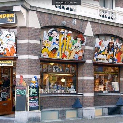 Utrecht's famous Blunder comic book store