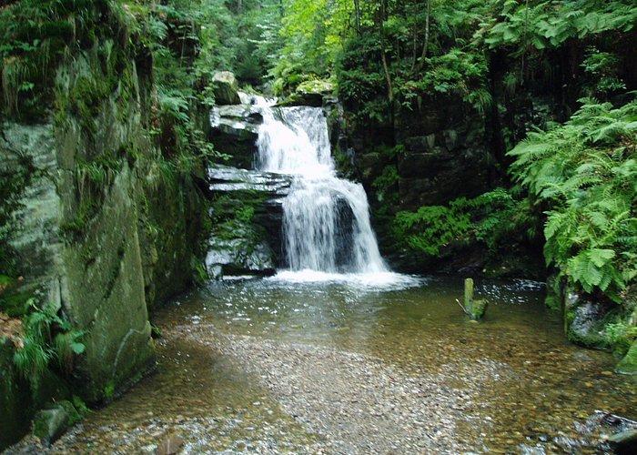 horní část vodopádů