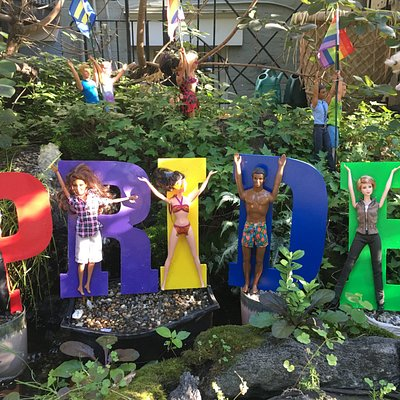 Welcome to DC Pride at The Barbie Pond on Avenue Q. June 2017.