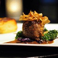 A delicious beef tenderloin