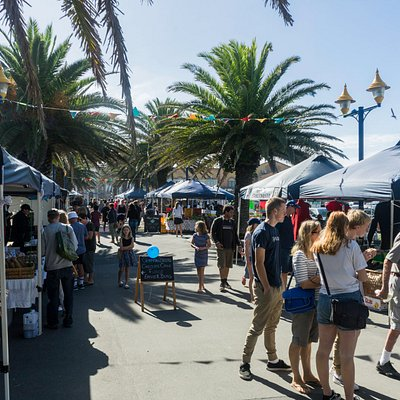 Mt pleasant farmers' market. A neat place to go in the weekend.