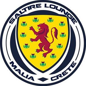 Saltire Lounge Scottish Bar Malia Crete