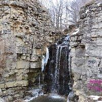 Princess Falls along the Chedoke Radial Trail