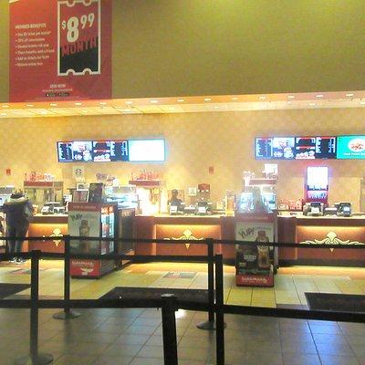 Snack bqr, Cinemark Antelope Valley Mall, Palmdale, CA