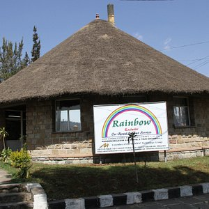 Rainbow's Office serves as a landmark for the area called Sarbet