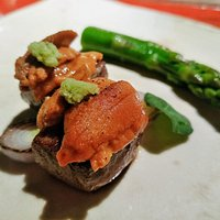 A5和牛海膽烤物