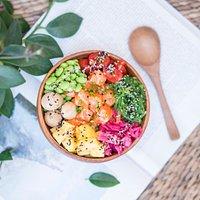 Our Salmon Poke bowl