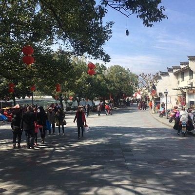 武岭西路商业步行街