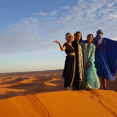 The beauty of the SAHARA is breathtaking !