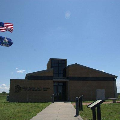 Exterior of Mine Creek Battlefield State Historic Site