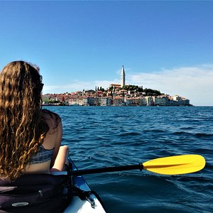 Sea kayaking in Rovinj with Terra Magica Adventures